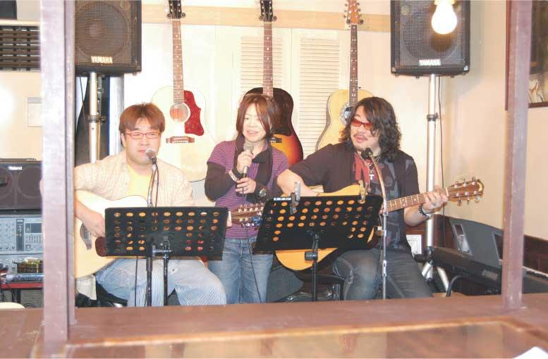 Falk Sakaba高円寺の演奏ブース