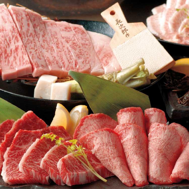 炭火焼肉泉味亭のブランド牛お肉