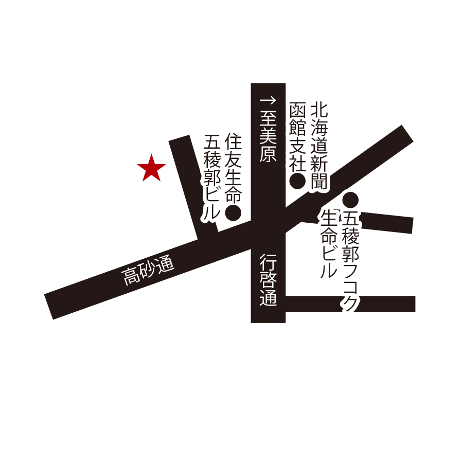 ももんじ周辺地図
