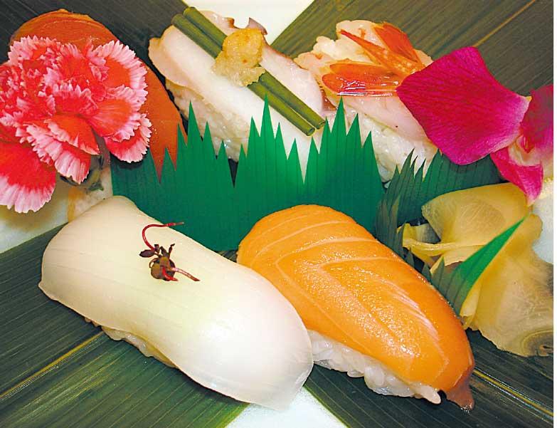 フィットネスホテル330函館いちばんの握り寿司