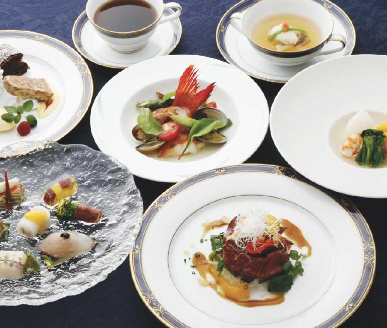 レストランウイニングのフュージョン料理