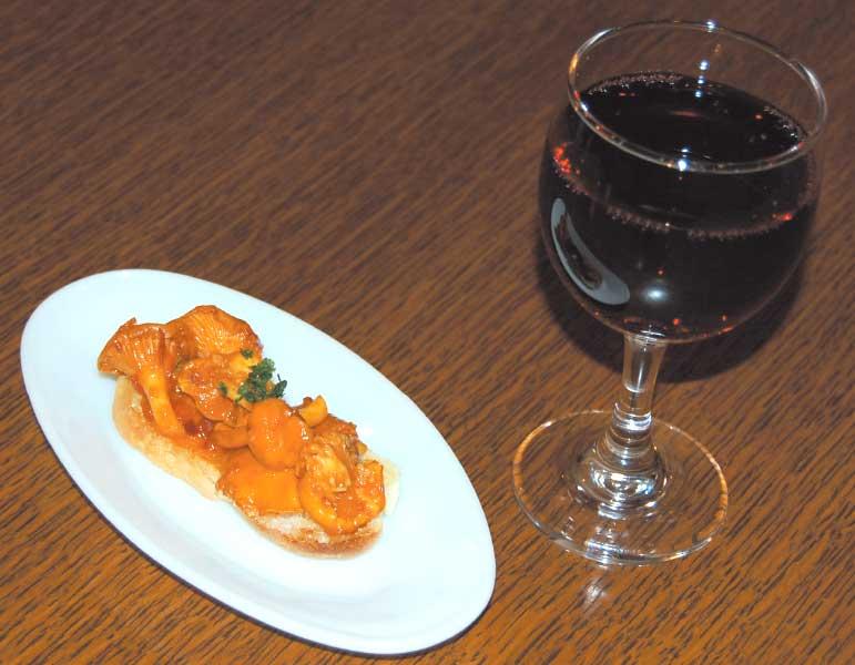 ラ・コンチャのスペイン風おつまみピンチョとワインのセット