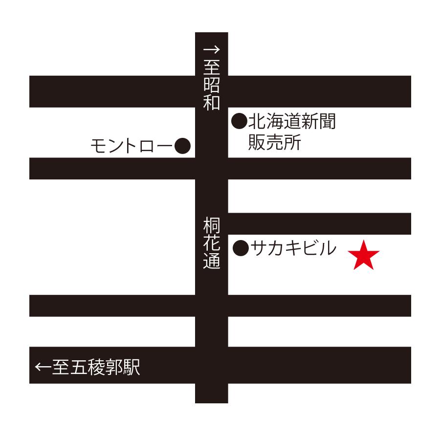 中国料理廣河周辺地図