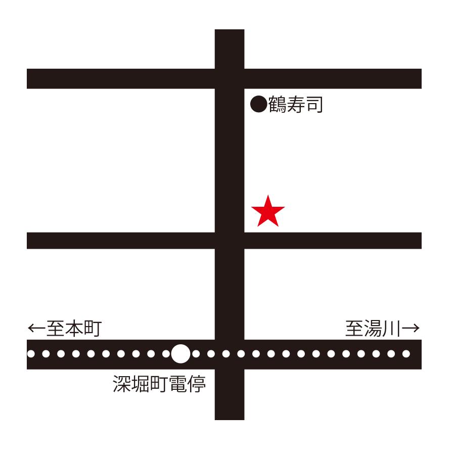 ミモザ周辺地図
