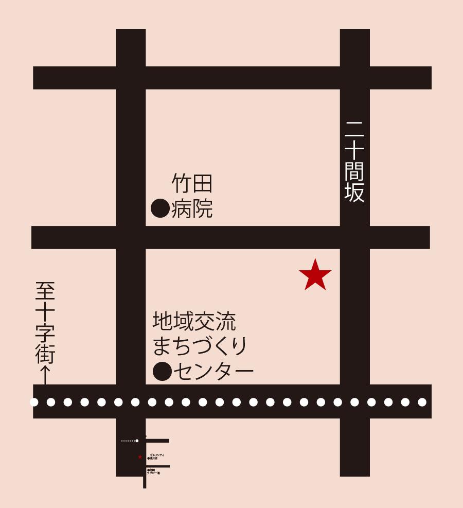五島軒本店レストラン雪河亭周辺地図