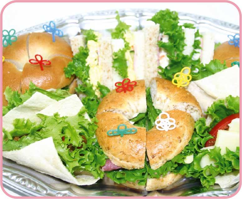 エドワーズのサンドイッチのオードブル