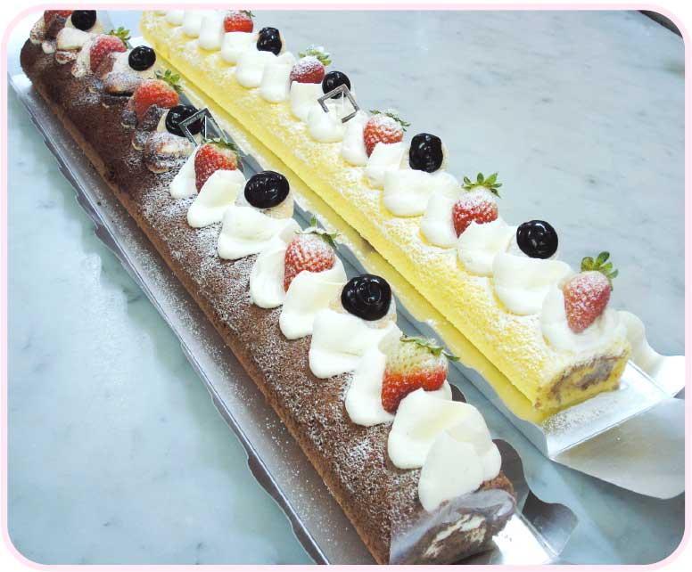 シュウェットカカオの長すぎ〜るロールケーキ
