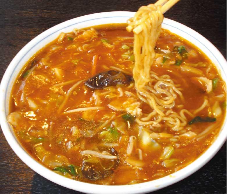 中国料理廣河の野菜マーボー麺