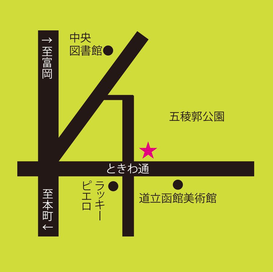 Food&Drink107周辺地図