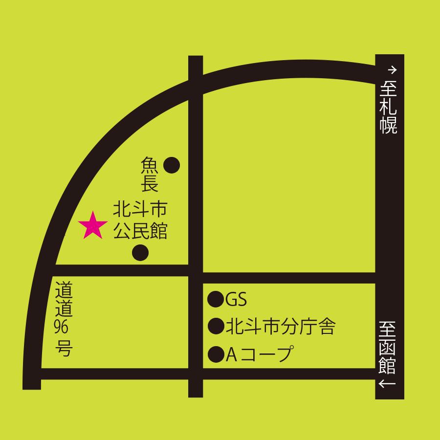 鈴木牧場周辺地図