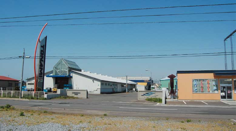 トナミ食品工業株式会社追分工場外観