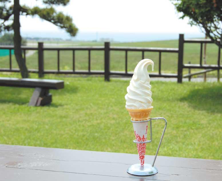 アイス118のソフトクリーム