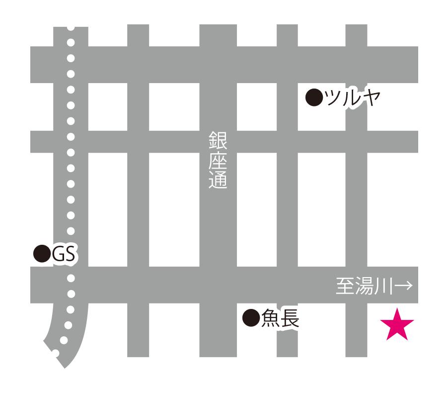 LA・PASTO周辺地図