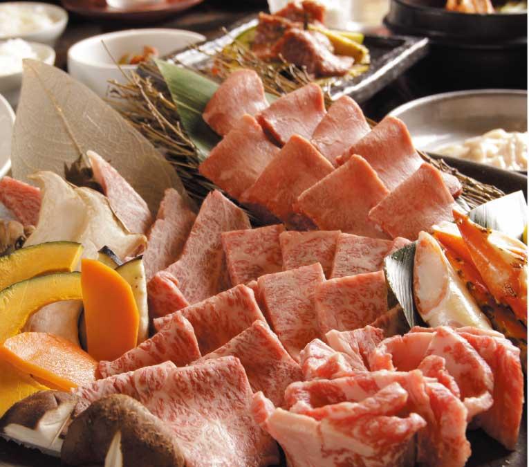 炭火焼肉泉味亭の宴会コース料理