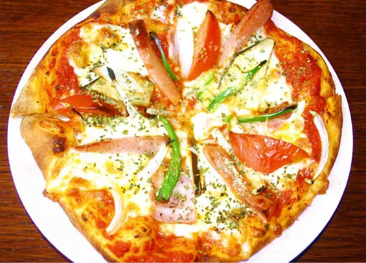 ピーベリーのミックスピザ