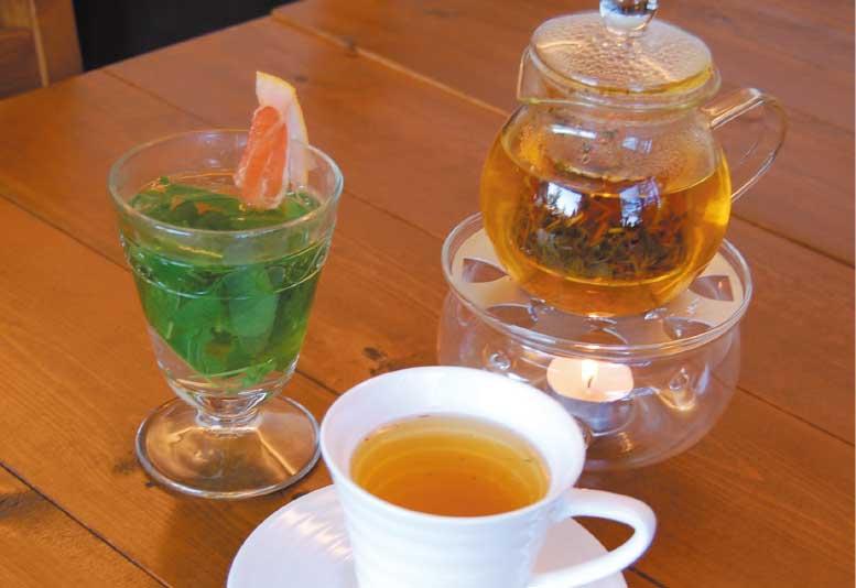 アトリエ・花茶のハーブティー