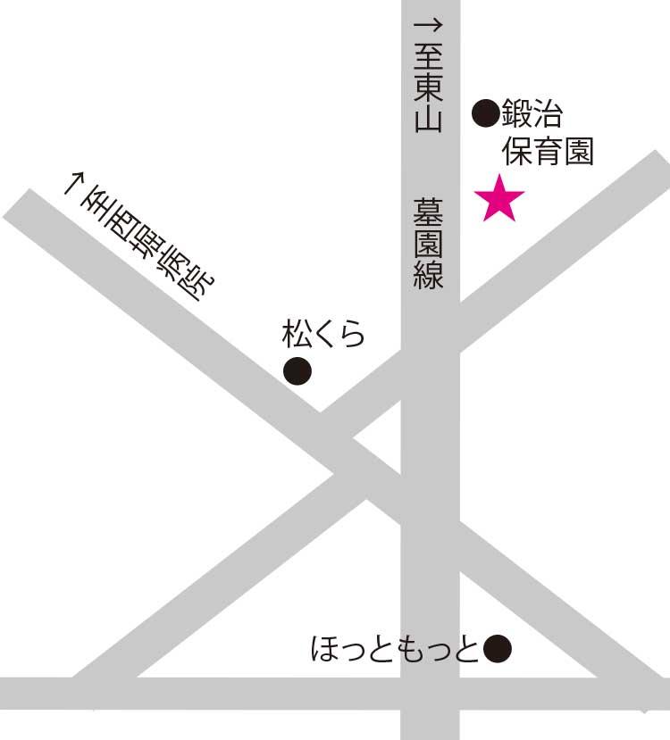 ポール沢田アチカ周辺地図
