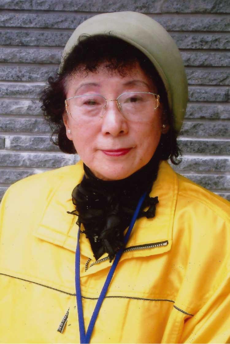 函館観光ボランティアサークル愛NO.1代表加地律子さん