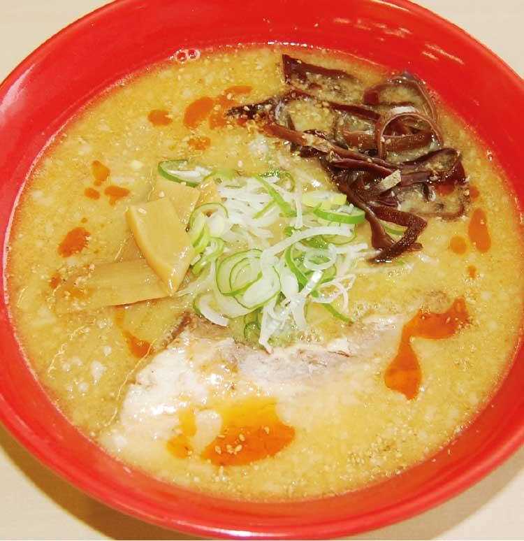 麺次郎石川店のとんこつゴマ辣麺