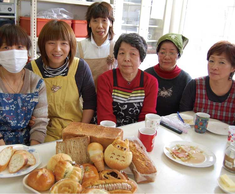 手作りパンの家こすもすの生徒さん達