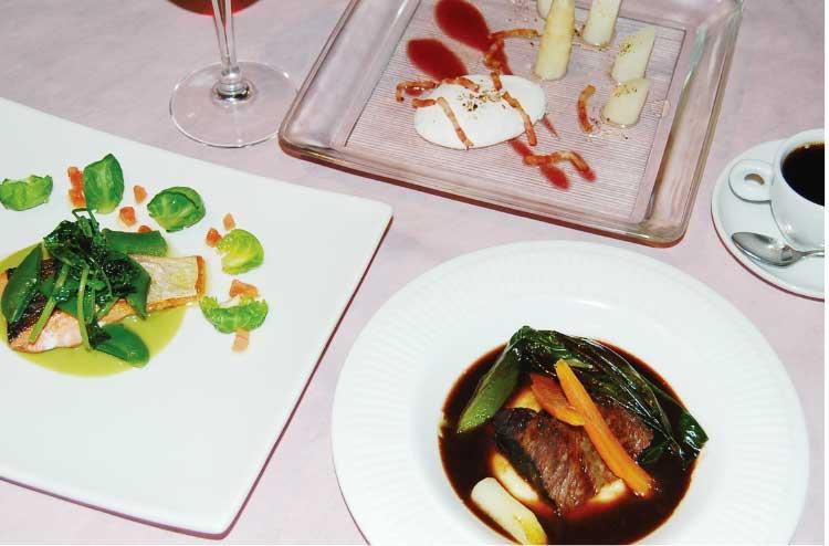 プティ・コションの和牛の頬肉の赤ワイン煮込み