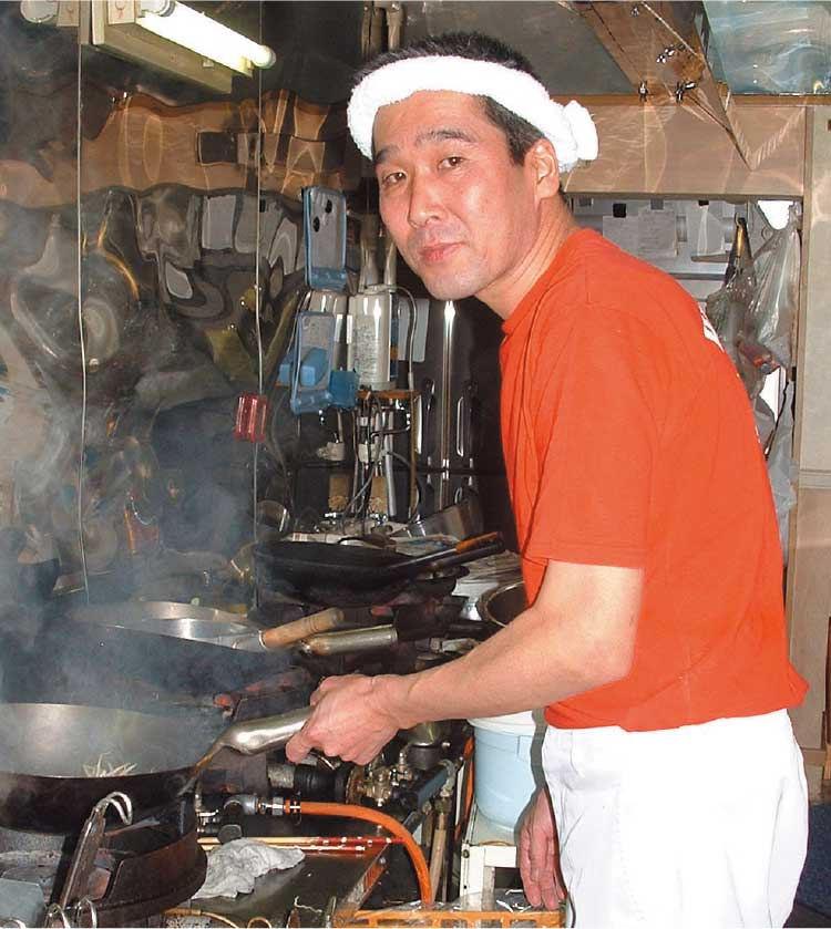 ラーメン専科麺次郎石川店店主平澤増幸さん