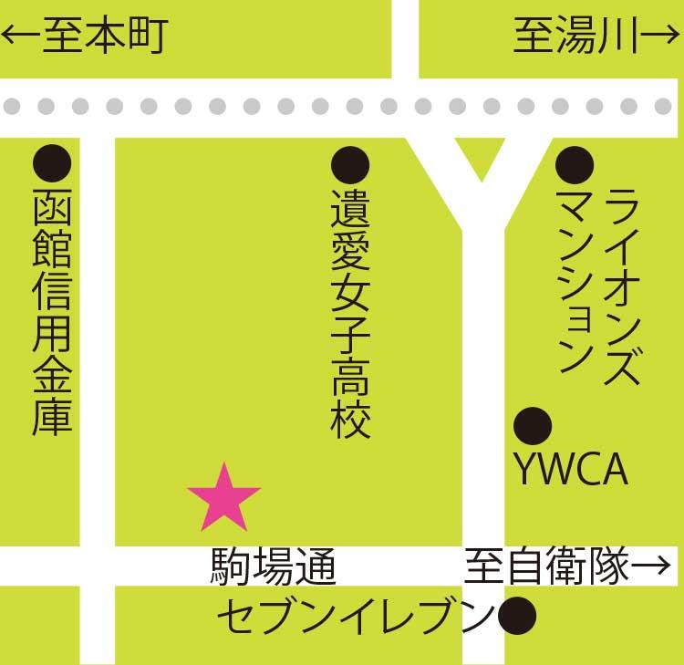 茶蔵周辺地図