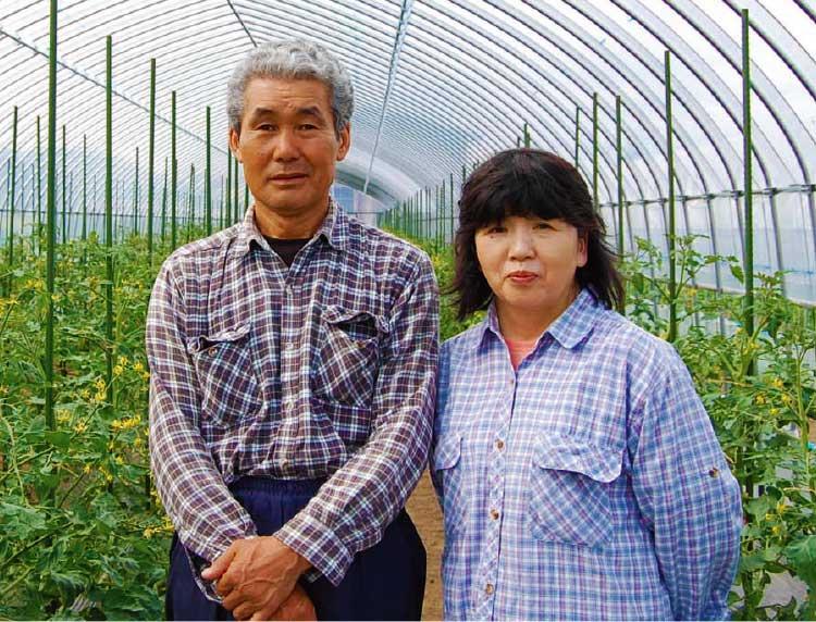 ついき農園のご夫妻