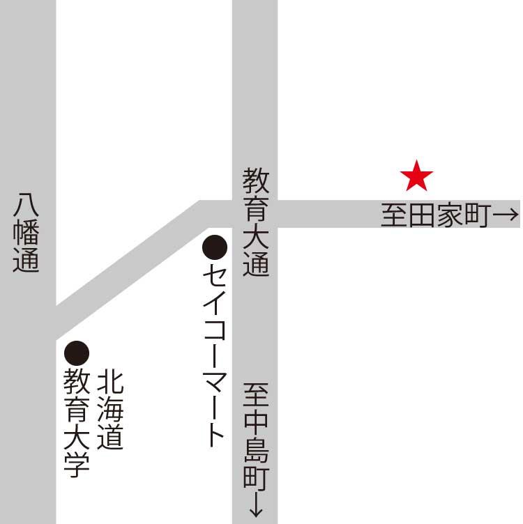 レストラン・イリュージョン周辺地図