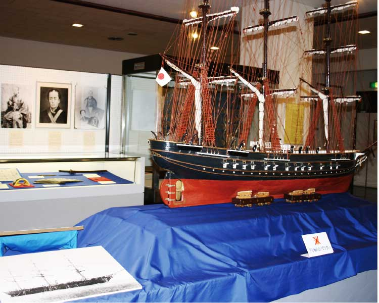 市立函館博物館の展示物