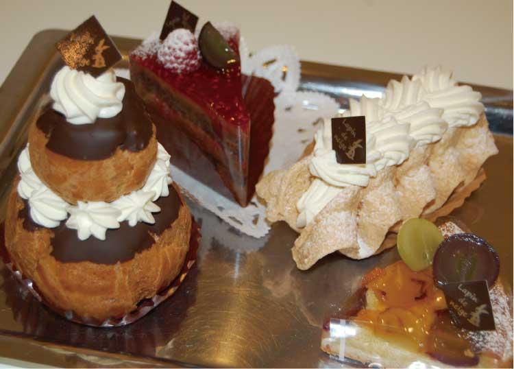 パティスリーラパン・ド・ネージュの各種ケーキ