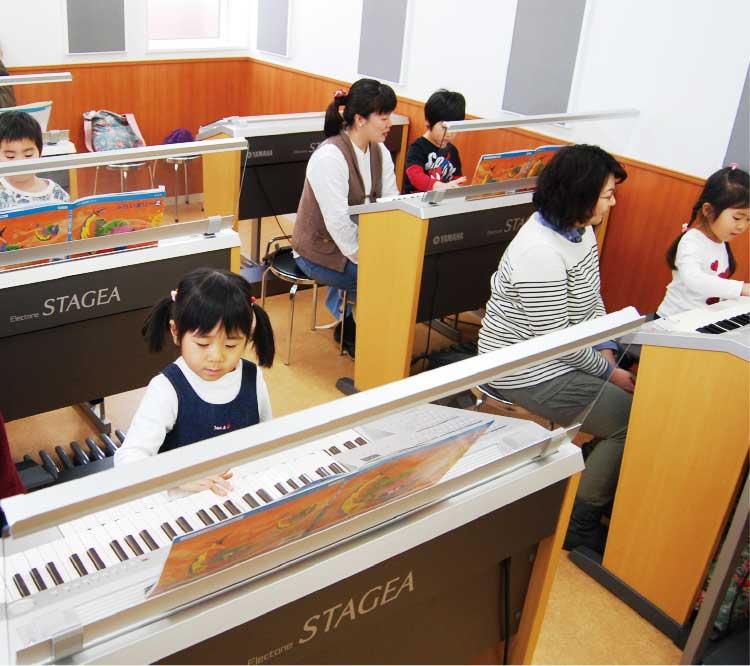 ヤマハ音楽教室・幼児科の授業風景