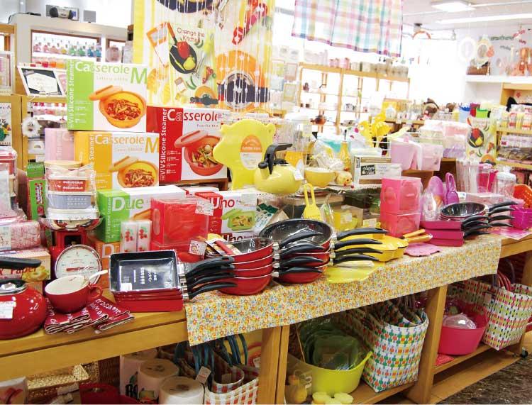 オレンジハウス函館テーオー店の可愛いキッチングッズ