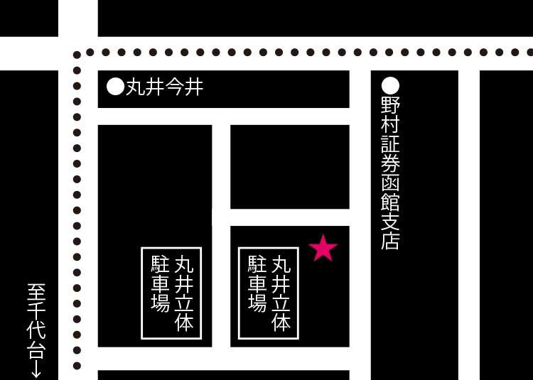 九州居酒屋ウェスタンキッチン周辺地図
