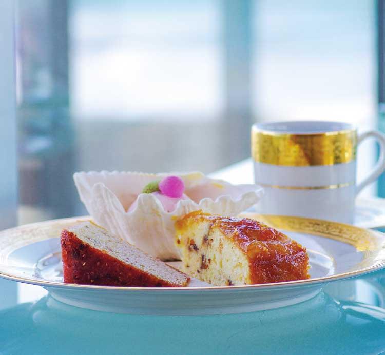 カフェバー・ラミネールの日替わりデザートセット
