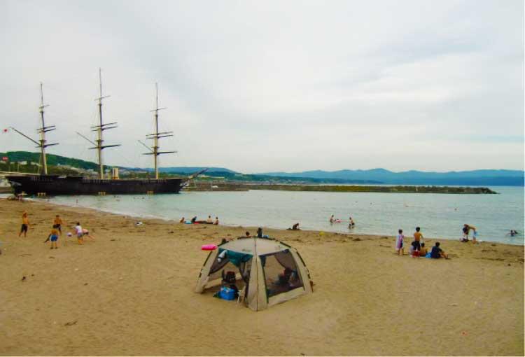 かもめ島海水浴場