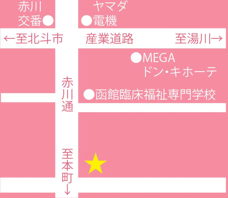 Restaurant nana-papa周辺地図