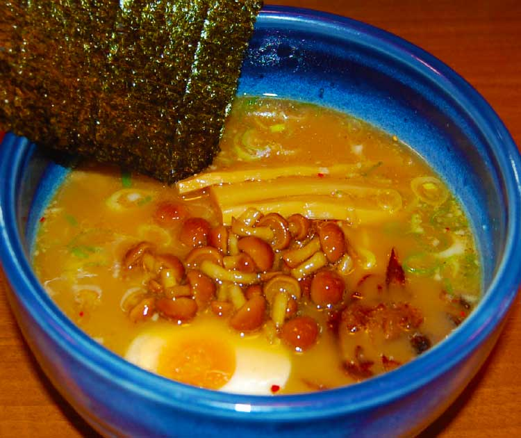 ラーメン専科麺次郎のサンマ節秋味ラーメン