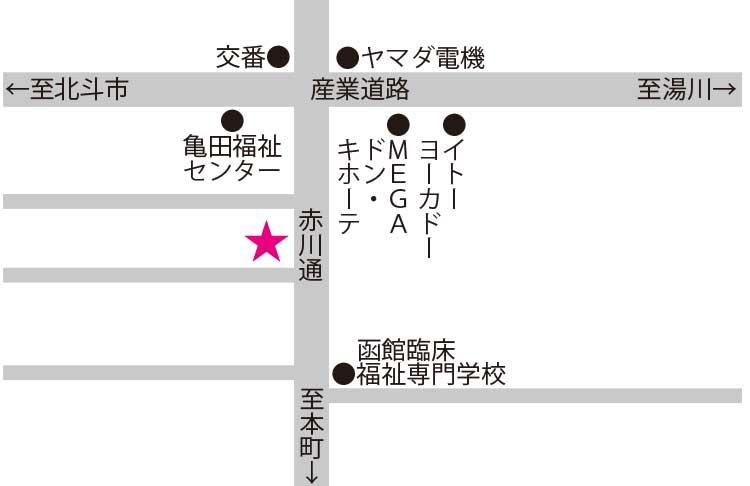 銅鍋周辺地図
