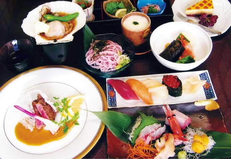 四季花菜の5250円宴会コース料理