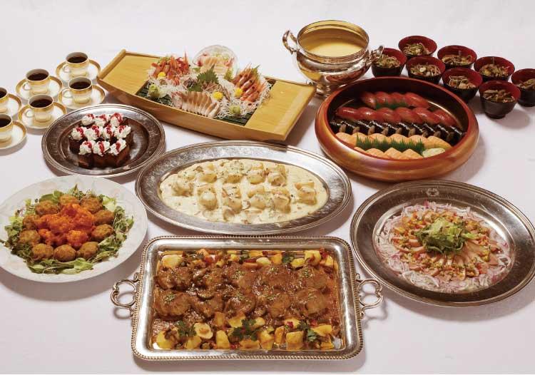 五島軒の6000円プラン料理