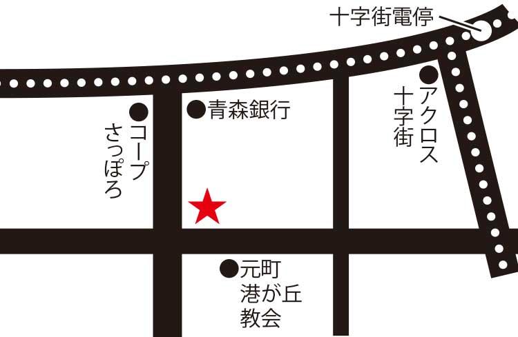 五島軒周辺地図