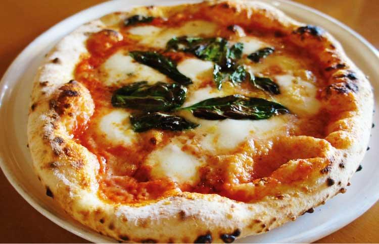 ビアンキのピザ