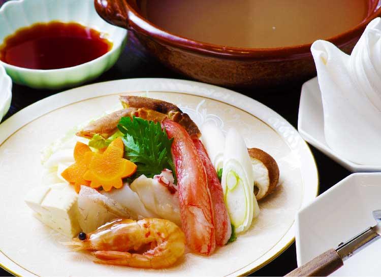 海鮮中華海風楼の海鮮しゃぶしゃぶ料理