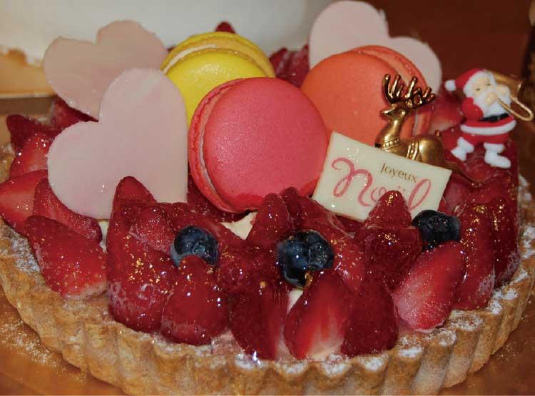 ジョリジュワジョイスのクリスマスケーキ
