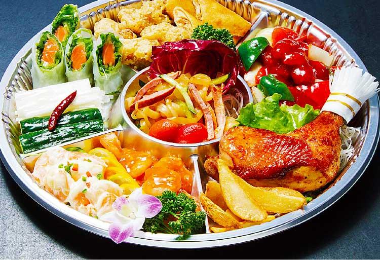 中国料理彩風塘の彩風塘特製中華オードブル