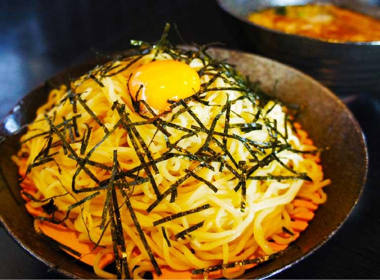 らーめん旭のつけ麺・醤油味