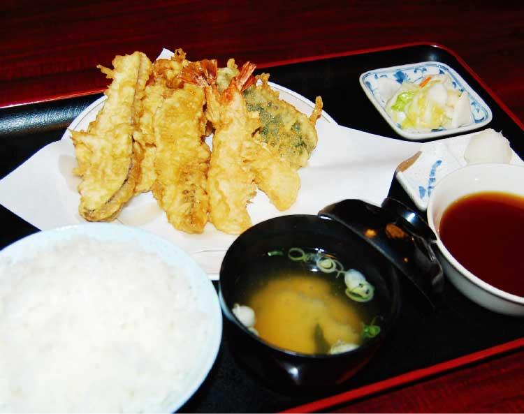 天ぷらてんやの上天ぷら定食