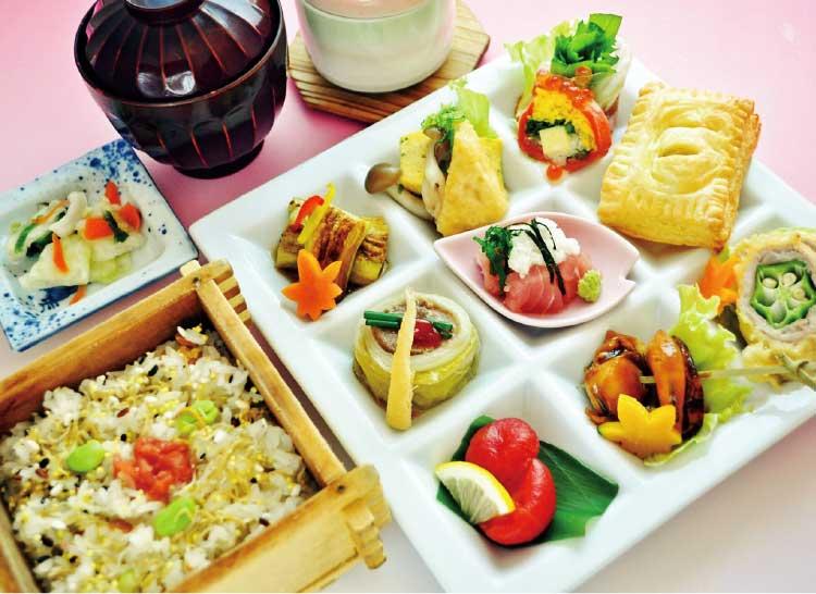 和食・すきやき・しゃぶしゃぶ寿々半の彩りランチ