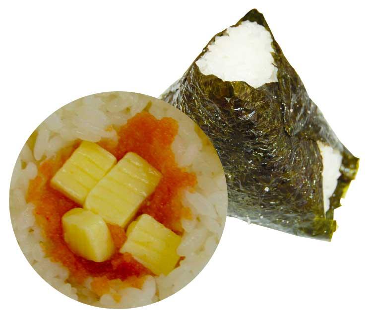チーズ明太子オニギリ
